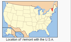 Vermont in Red